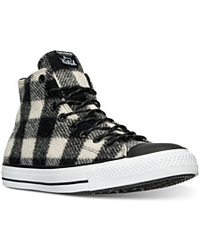 Converse Men's Chuck Taylor All Star Hi Woolrich Casual Sneakers