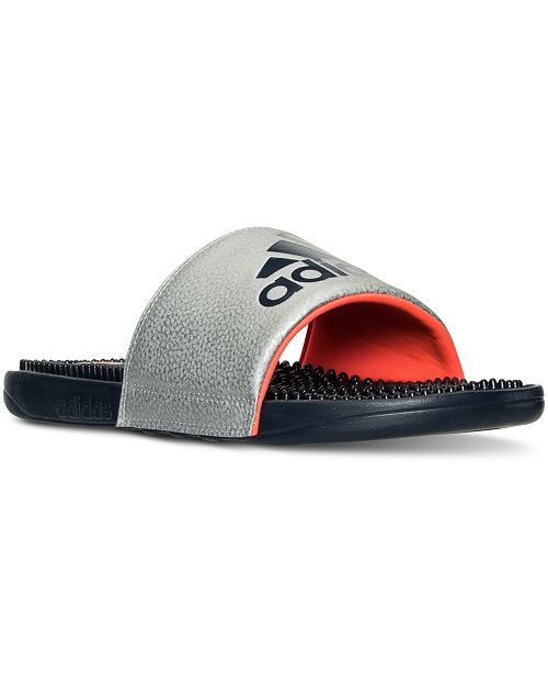 c2499ea34 adidas Men s Voloossage Slide Sandals from Finish Line   Reviews ...