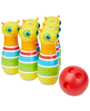 Melissa & Doug Kids' Giddy Buggy Bowling Set
