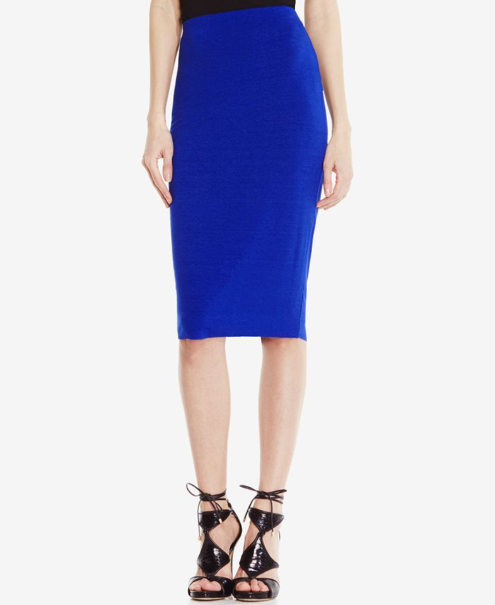 Vince Camuto - Stretch-Knit Pencil Skirt