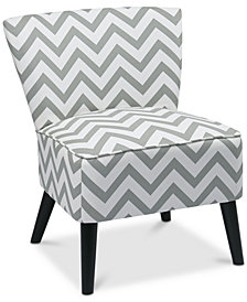 CLOSEOUT! Leeza Accent Chair, Quick Ship