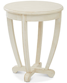 Herone Round Accent Table, Quick Ship