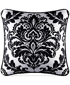 "CLOSEOUT! J Queen New York Cambridge 18"" x 18"" Decorative Pillow"