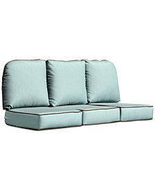 Monterey & Sandy Cove Outdoor Sofa Replacement Sunbrella® Cushion, Quick Ship