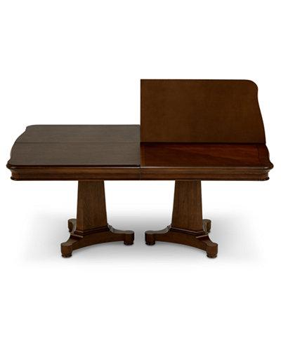 Bordeaux Double Pedestal Table Pad
