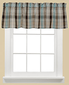 "Saturday Knight Cooper Plaid 58"" x 13"" Valance"