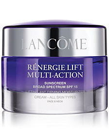 Lancôme Rénergie Lift Multi Action Moisturizer Cream SPF 15 All Skin Types, 2.6 oz