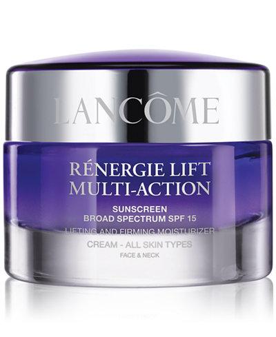 Lancôme Rénergie Lift Multi Action Moisturizer Cream SPF 15All Skin Types, 2.6 oz