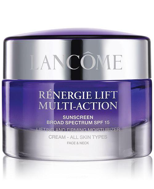 Lancome Rénergie Lift Multi-Action Day Cream SPF 15, 2.6 oz.