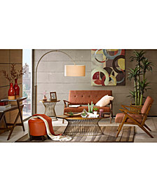 Mercer Living Room Collection, Quick Ship