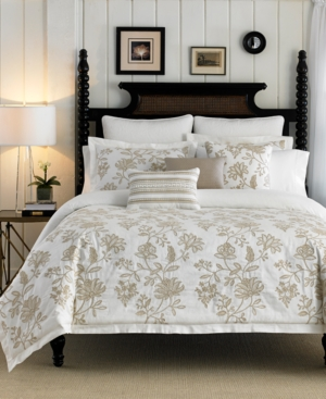 Croscill Devon Floral Quilted European Sham Bedding