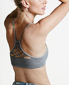 Free People Lattice-Detail Racerback Bralette OB415612