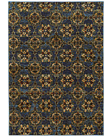 "Macy's Fine Rug Gallery Journey  Vella Blue 8'6"" x 11'7"" Area Rug"