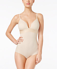 Maidenform Women's  Endlessly Smooth Firm Tummy-Control Plunge Bodybriefer DM1008