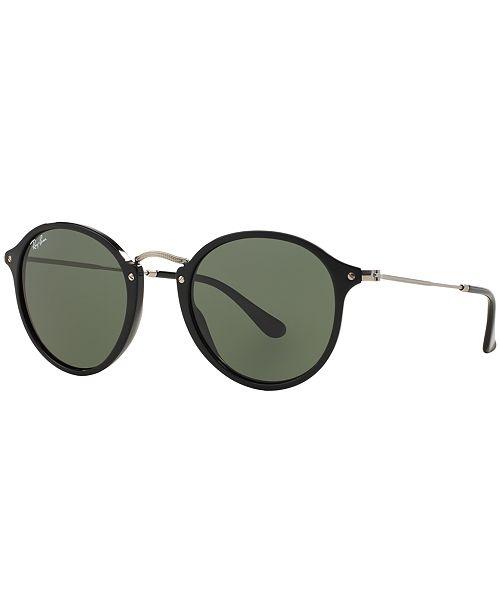 ROUND FLECK Sunglasses, RB2447 52