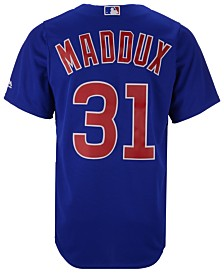 Majestic Men's Greg Maddux Chicago Cubs Cooperstown Replica CB Jersey