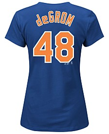 Majestic Women's Jacob deGrom New York Mets Player T-Shirt