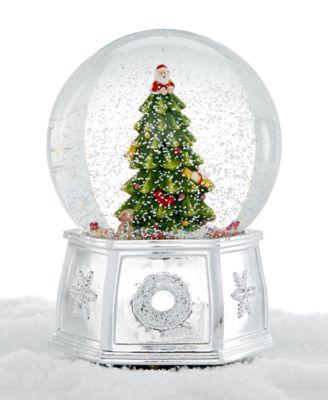 Christmas Tree Large Snow Globe