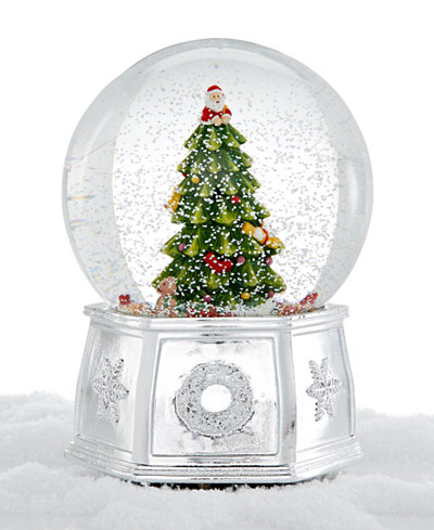 spode christmas tree large snow globe - Large Christmas Tree