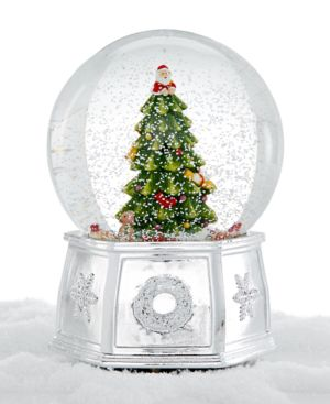 Spode Christmas Tree Large Snow Globe