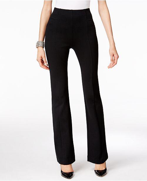INC International Concepts INC High-Waist Bootcut Pants, Created for Macy's