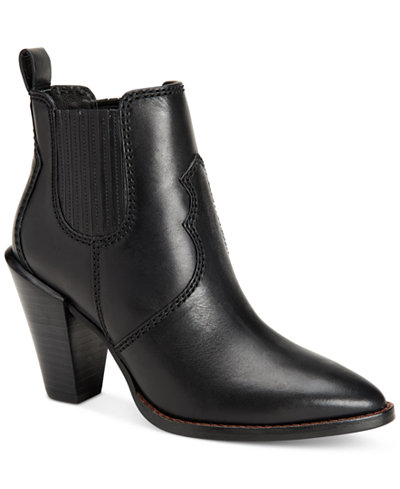 COACH Westyn Block-Heel Booties