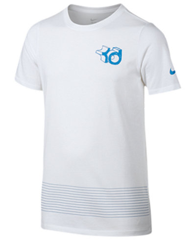 Nike Boys 39 Kd Dry Fit T Shirt Shirts Tees Kids