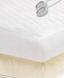 Beautyrest Microfiber King Heated Mattress Pad with 3M Scotchgard