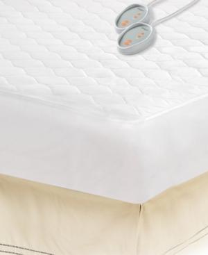 Beautyrest Microfiber King Heated Mattress Pad with 3M Scotchgard Bedding