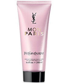 Yves Saint Laurent Mon Paris Body Lotion, 6.7 oz