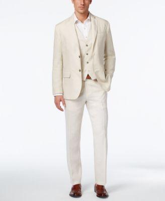 Tasso Elba Men's 100% Linen Pants, Created for Macy's - Men - Macy's