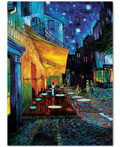 'Cafe Terrace' by Vincent van Gogh 18