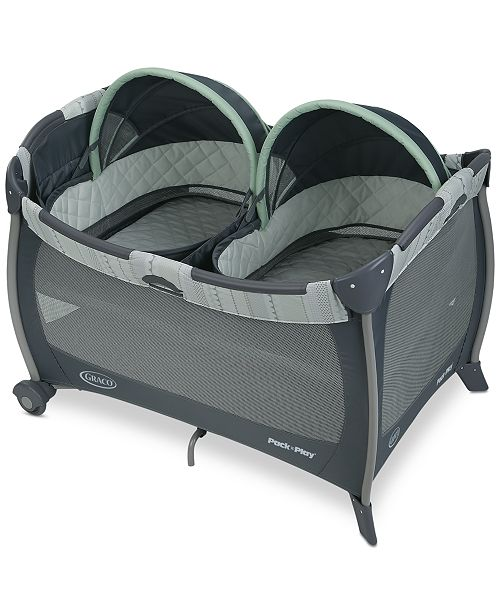 Graco Baby Pack 'n Play Playard with Twins Bassinet Mason