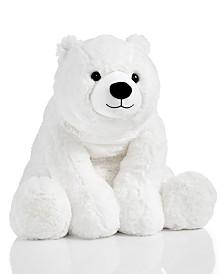 Holiday Lane Shine Bright Polar Bear Plush, Created for Macy's