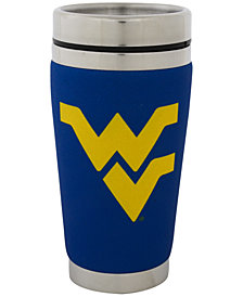 Hunter Manufacturing West Virginia Mountaineers 16oz Stainless Steel Travel Tumbler