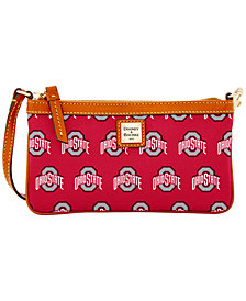 Dooney & Bourke Ohio State Buckeyes Large Slim Wristlet