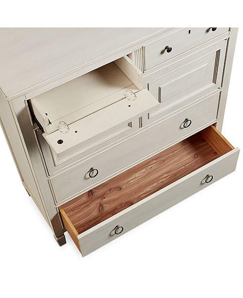 Furniture Sag Harbor White 4 Drawer Chest Furniture Macy S