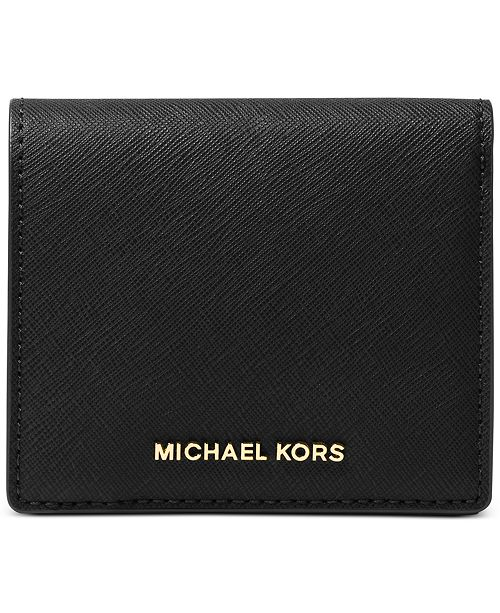 0b405639afa3 Michael Kors Jet Set Travel Carryall Card Case & Reviews ...