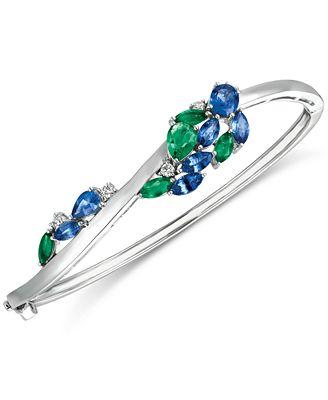 Le Vian Precious Collection Sapphire 2 3 8 ct t w Emerald 1