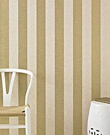 Graham & Brown Ariadne Gold Stripe Wallpaper