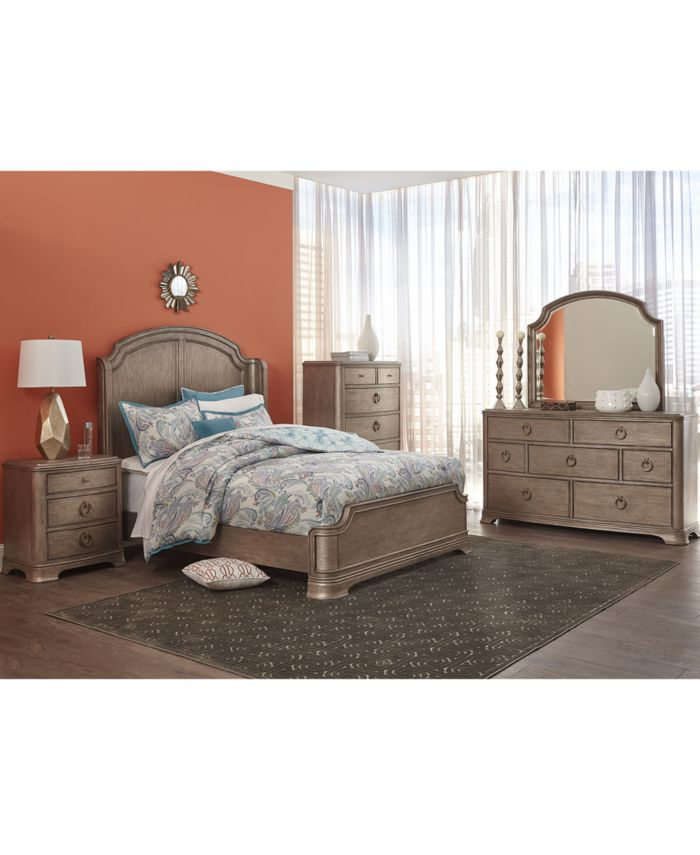 Furniture Kelly Ripa Home Hayley Bedroom 7 Drawer Dresser & Reviews - Furniture - Macy's