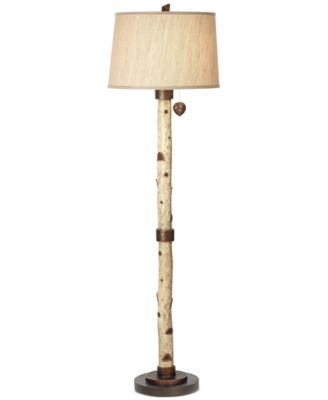 Pacific Coast Birch Tree Floor Lamp - Lighting & Lamps - For The ...