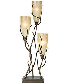 Pacific Coast El Dorado 3 Light Table Lamp