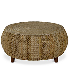 Dawkins Low Round Accent Table, Quick Ship