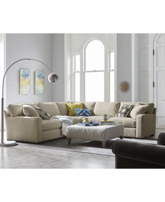 Kelly Ripa Ampton Sectional Collection Created For Macys