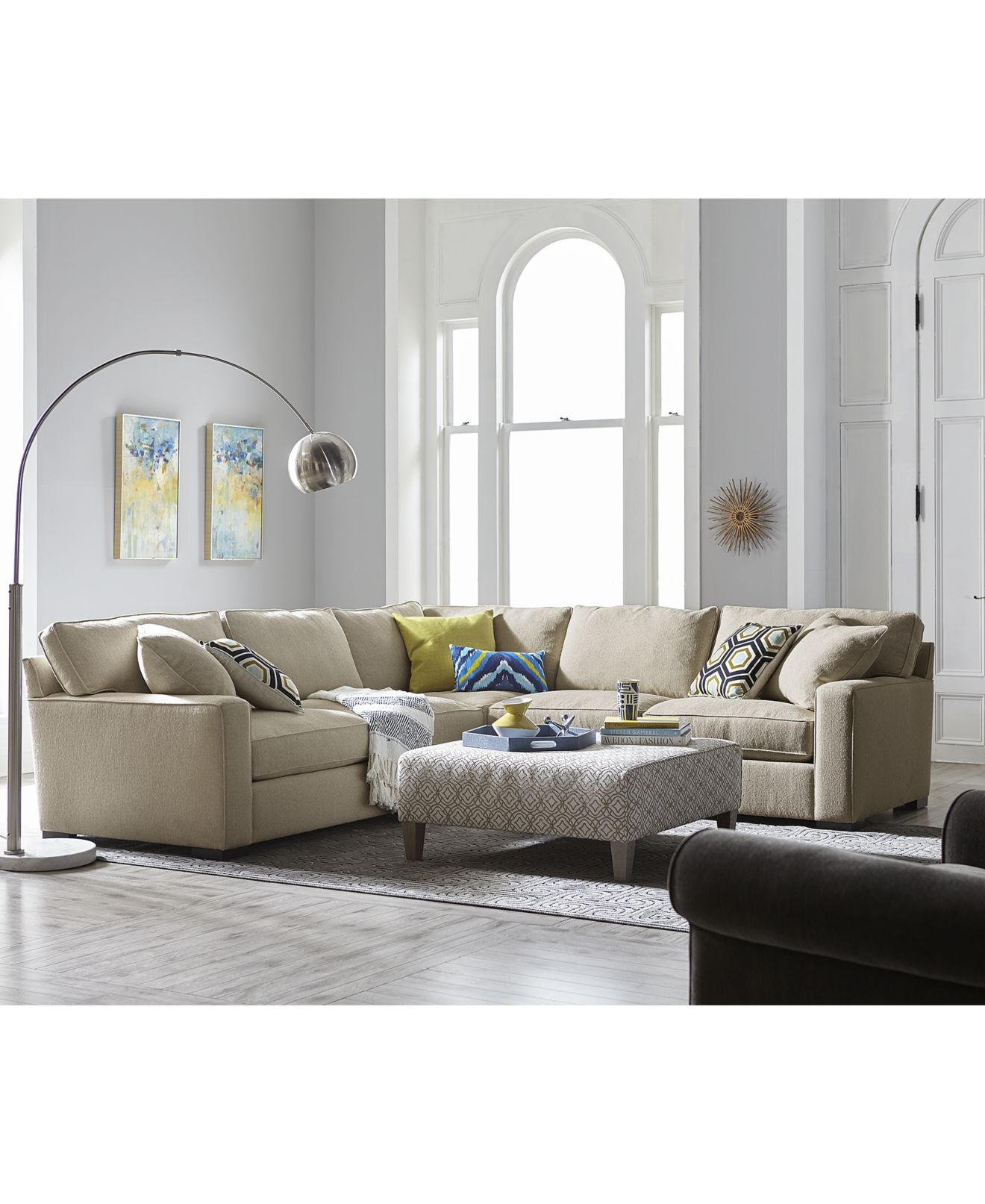 Custom Color Sofa Collections Macy s