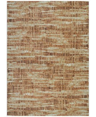 "Taylor Maynard Antique Cream-Salmon 2'7"" x 7'10"" Runner Rug"
