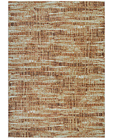 "Couristan Taylor Maynard Antique Cream-Salmon 5'3"" x 7'6"" Area Rug"