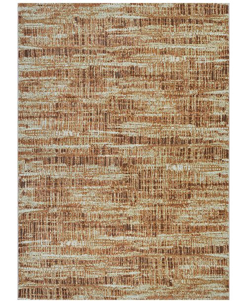 "Couristan Taylor Maynard Antique Cream-Salmon 7'10"" x 11'2"" Area Rug"