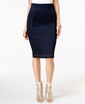 Denim Pencil Skirts: Shop Denim Pencil Skirts - Macy's